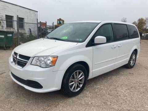 2016 Dodge Grand Caravan for sale at SUNSET CURVE AUTO PARTS INC in Weyauwega WI