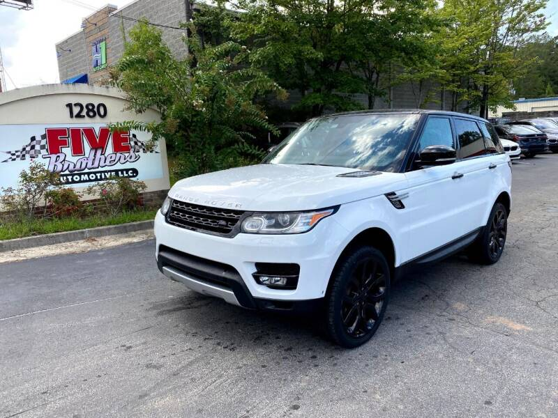 2015 Land Rover Range Rover Sport for sale at Five Brothers Auto Sales in Roswell GA