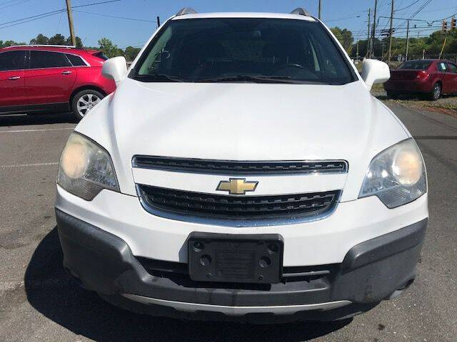 2012 Chevrolet Captiva Sport for sale at Family Auto Cars Inc in Charlotte NC