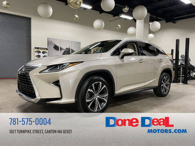 2017 Lexus RX 350 for sale at DONE DEAL MOTORS in Canton MA