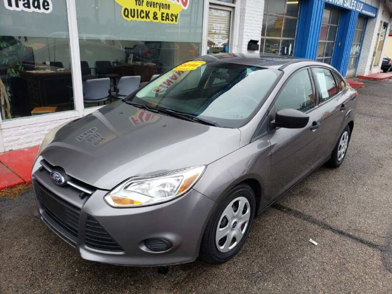 2014 Ford Focus for sale at AutoMotion Sales in Franklin OH
