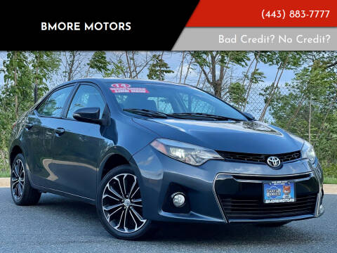 2014 Toyota Corolla for sale at Bmore Motors in Baltimore MD