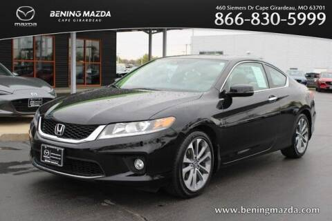 2015 Honda Accord for sale at Bening Mazda in Cape Girardeau MO