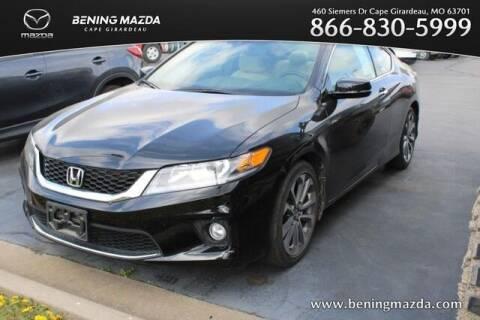 2015 Honda Accord for sale at Bening Mazda in Cape Girardeau MO