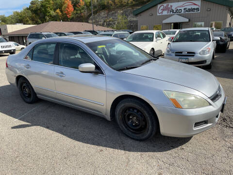 2007 Honda Accord for sale at Gilly's Auto Sales in Rochester MN