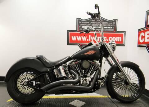 2012 Harley-Davidson FAT BOY 103 for sale at Certified Motor Company in Las Vegas NV