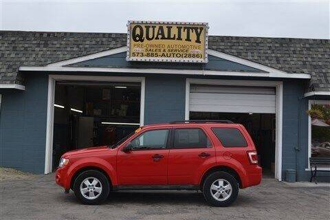 2009 Ford Escape for sale at Quality Pre-Owned Automotive in Cuba MO
