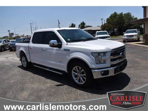 2015 Ford F-150 for sale at Carlisle Motors in Lubbock TX