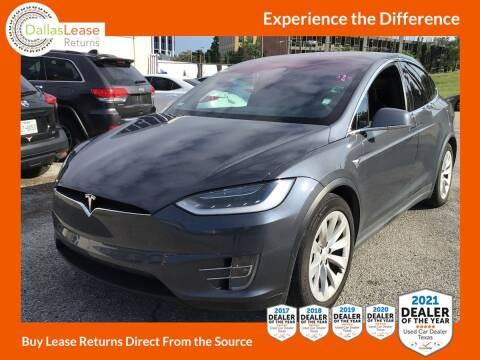 2018 Tesla Model X for sale at Dallas Auto Finance in Dallas TX