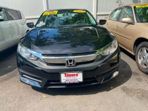2017 Honda Civic for sale at Elmora Auto Sales in Elizabeth NJ