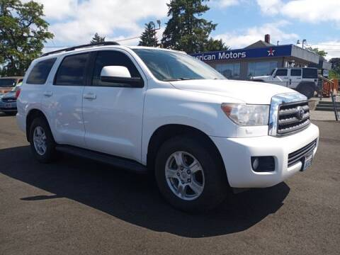 2012 Toyota Sequoia for sale at All American Motors in Tacoma WA