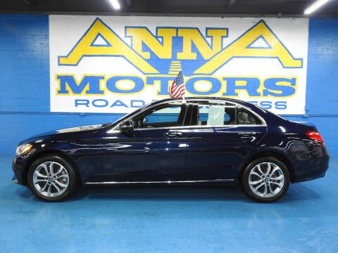 2018 Mercedes-Benz C-Class for sale at ANNA MOTORS, INC. in Detroit MI