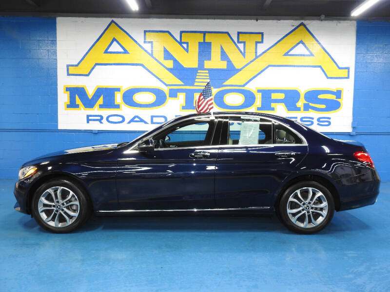 2018 Mercedes-Benz C-Class for sale at ANNA MOTORS, INC. in Detroit MI