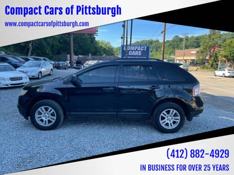 2007 Ford Edge for sale at Compact Cars of Pittsburgh in Pittsburgh PA