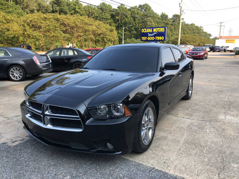 2013 Dodge Charger for sale at Oceana Motors in Virginia Beach VA