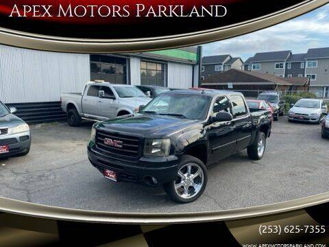 2011 GMC Sierra 1500 for sale at Apex Motors Parkland in Tacoma WA