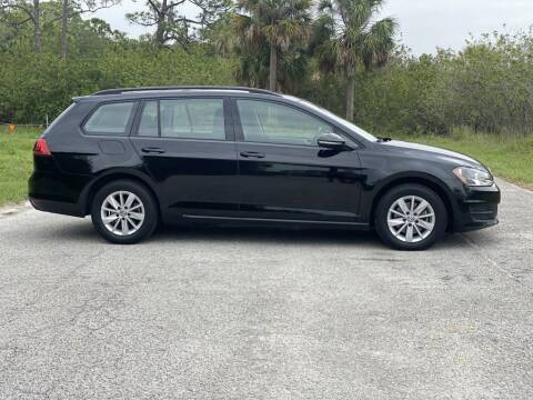 2016 Volkswagen Golf SportWagen for sale at D & D Used Cars in New Port Richey FL