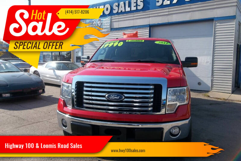 2011 Ford F-150 for sale at Highway 100 & Loomis Road Sales in Franklin WI