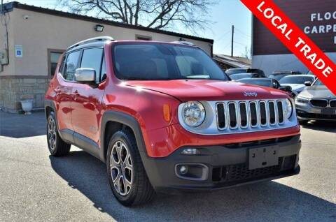 2016 Jeep Renegade for sale at LAKESIDE MOTORS, INC. in Sachse TX