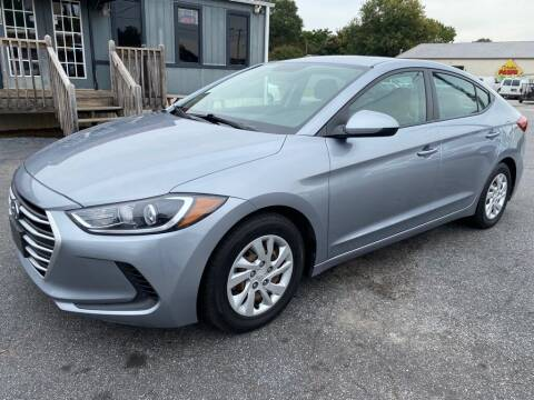 2017 Hyundai Elantra for sale at Modern Automotive in Boiling Springs SC