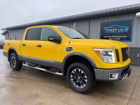 2017 Nissan Titan for sale at FAST LANE AUTOS in Spearfish SD