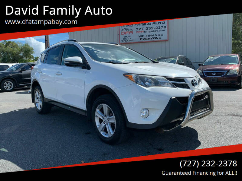 2013 Toyota RAV4 for sale at David Family Auto in New Port Richey FL