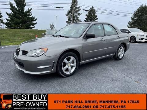 2006 Subaru Impreza for sale at Best Buy Pre-Owned in Manheim PA