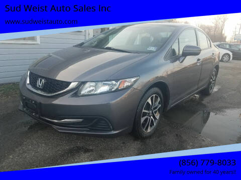2014 Honda Civic for sale at Sud Weist Auto Sales Inc in Maple Shade NJ