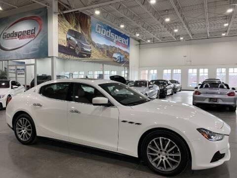 2014 Maserati Ghibli for sale at Godspeed Motors in Charlotte NC