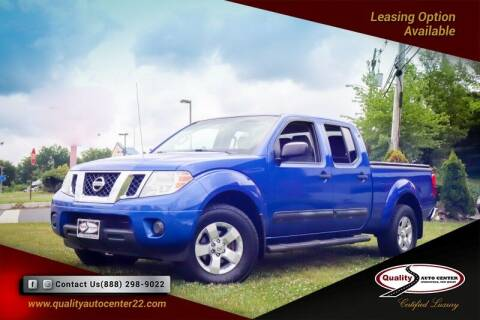 2012 Nissan Frontier for sale at Quality Auto Center of Springfield in Springfield NJ