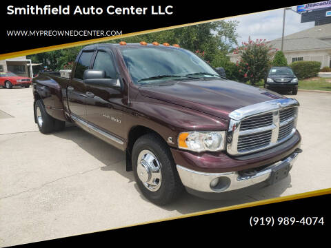 2004 Dodge Ram Pickup 3500 for sale at Smithfield Auto Center LLC in Smithfield NC