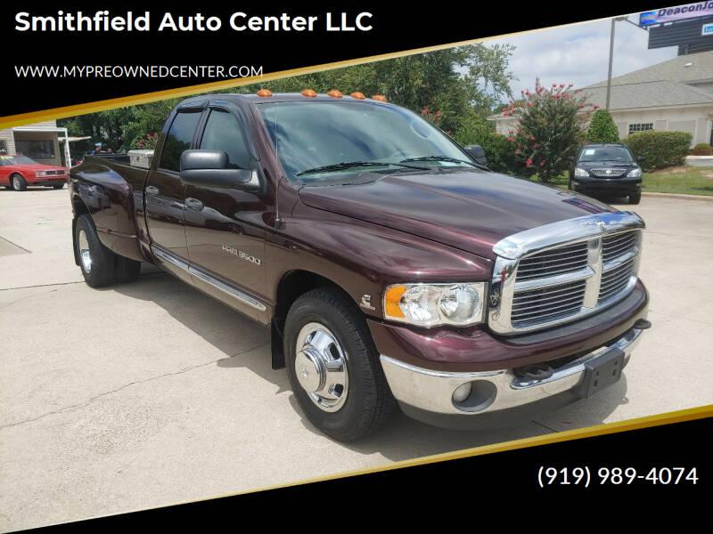 2004 Dodge Ram Pickup 3500 for sale at Smithfield Auto Center LLC in Smithfield NC