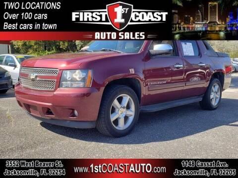 2008 Chevrolet Avalanche for sale at 1st Coast Auto -Cassat Avenue in Jacksonville FL