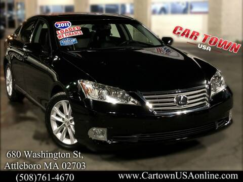2011 Lexus ES 350 for sale at Car Town USA in Attleboro MA