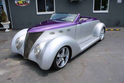1937 Ford Phaeton for sale at Great Lakes Classic Cars & Detail Shop in Hilton NY