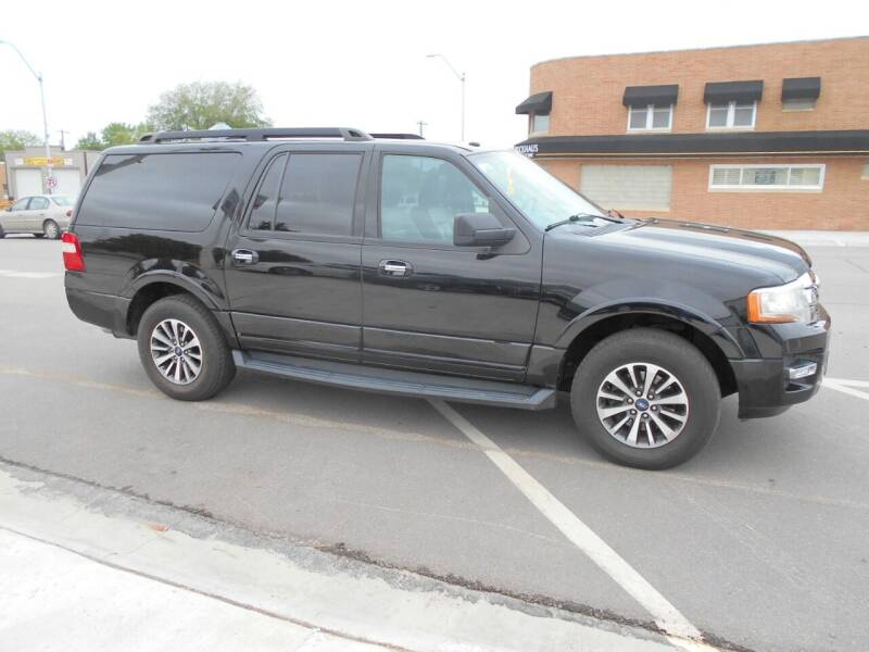2017 Ford Expedition EL for sale at Creighton Auto & Body Shop in Creighton NE
