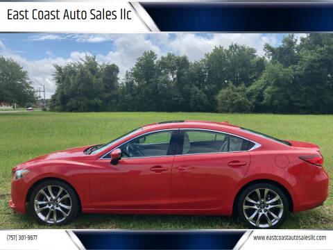 2014 Mazda MAZDA6 for sale at East Coast Auto Sales llc in Virginia Beach VA