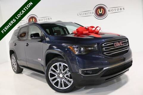 2018 GMC Acadia for sale at Unlimited Motors in Fishers IN