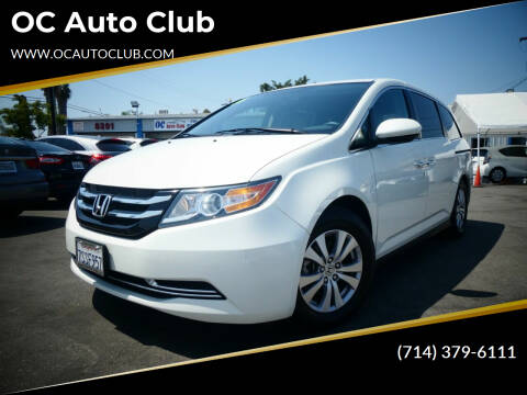 2016 Honda Odyssey for sale at OC Auto Club in Midway City CA