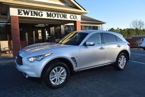 2017 Infiniti QX70 for sale at Ewing Motor Company in Buford GA