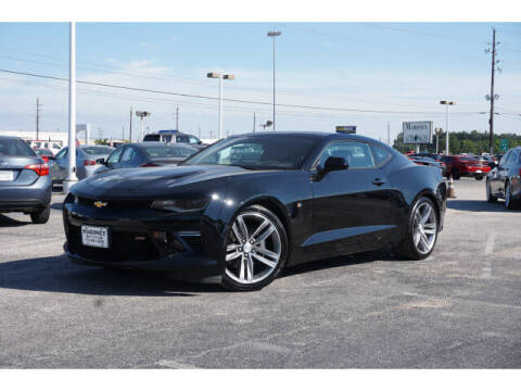 2018 Chevrolet Camaro for sale at Maroney Auto Sales in Humble TX