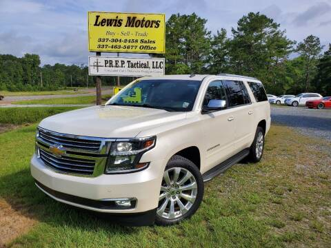 2015 Chevrolet Suburban for sale at Lewis Motors LLC in Deridder LA