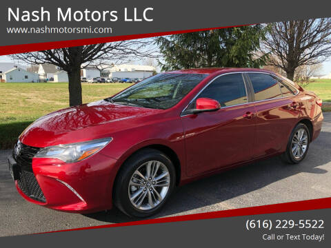 2017 Toyota Camry for sale at Nash Motors LLC in Hudsonville MI