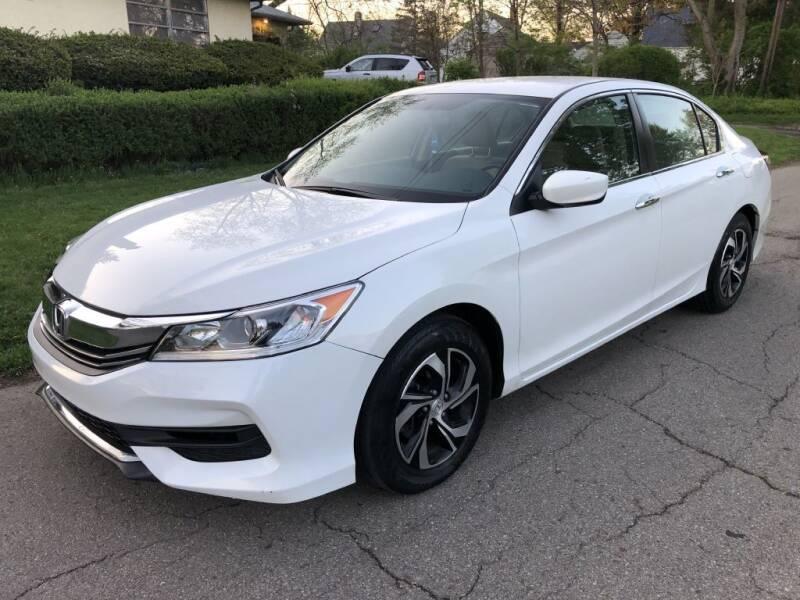 2017 Honda Accord for sale at Urban Motors llc. in Columbus OH