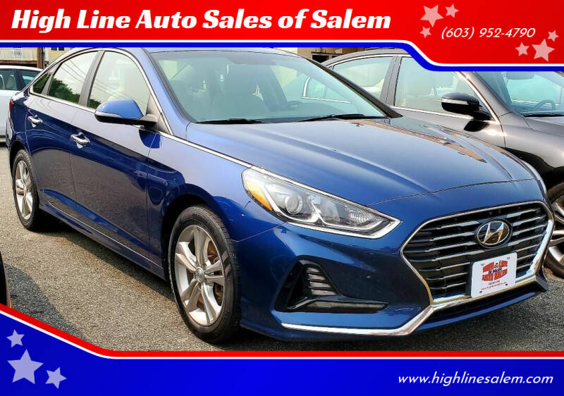2018 Hyundai Sonata for sale at High Line Auto Sales of Salem in Salem NH