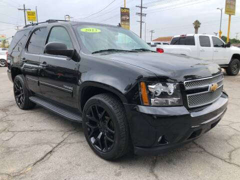 2013 Chevrolet Tahoe for sale at BEST DEAL MOTORS  INC. CARS AND TRUCKS FOR SALE in Sun Valley CA