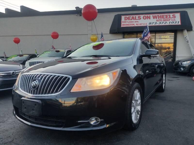 2013 Buick LaCrosse for sale at Gem Auto Sales in Irvington NJ