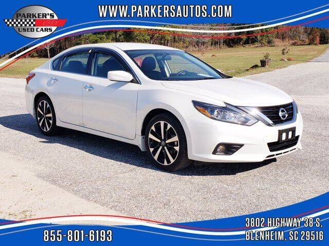 2018 Nissan Altima for sale at Parker's Used Cars in Blenheim SC