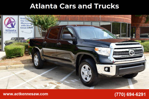2017 Toyota Tundra for sale at Atlanta Cars and Trucks in Kennesaw GA