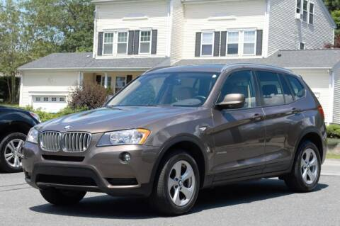 2012 BMW X3 for sale at LARIN AUTO in Norwood MA